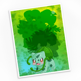 Bulbasaur Print – Available in Multiple Sizes!