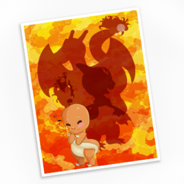 Charmander Print – Available in Multiple Sizes!