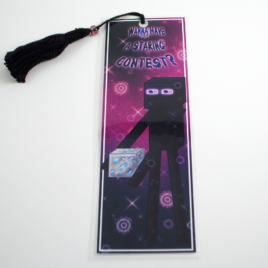 Enderman 2″x6″ Tasseled Bookmark