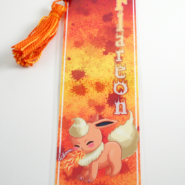 Flareon 2″x6″ Tasseled Bookmark
