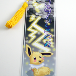 Jolteon 2″x6″ Tasseled Bookmark