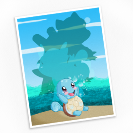 Squirtle Print – Available in Multiple Sizes!
