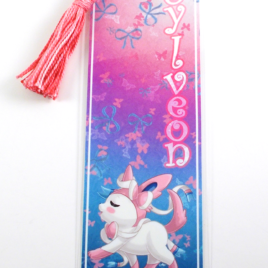 Sylveon 2″x6″ Tasseled Bookmark