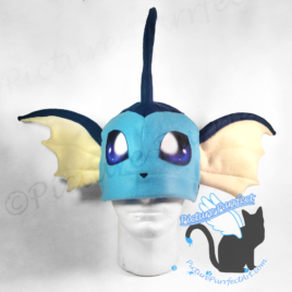 Vaporeon Fleece Hat