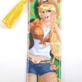 Humanized Applejack 2″x6″ Tasseled Bookmark