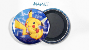 "Custom Buttons 1.5"" Magnets Example"
