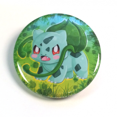 Bulbasaur Button