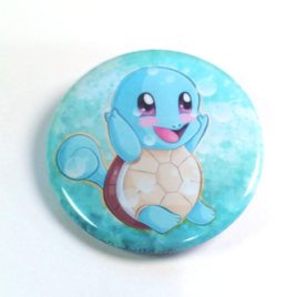 Squirtle 1.5″ Pinback Button or Magnet