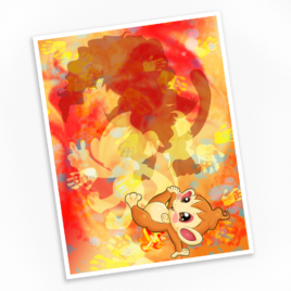 Chimchar Print – Available in Multiple Sizes!