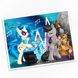 Dubstep Duet Print – Available in Multiple Sizes!