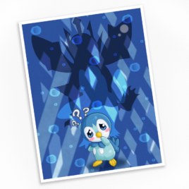 Piplup Print – Available in Multiple Sizes