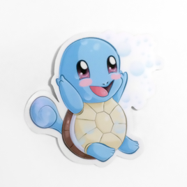 Squirtle 2″ Vinyl Sticker