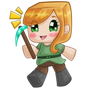 Itty Bitty Chibi Digital Color Example