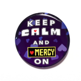 Mercy button made by Camie M. Anderson
